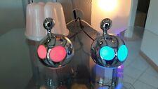 MATHMOS RED BLOB INTERACTIVE LIGHT MOTION LED LAVA GLITTER TABLE LAMP