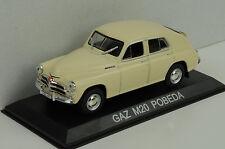 GAZ M20 Pobeda beige 1:43 IXO / Ist - Bliester magazine Collection