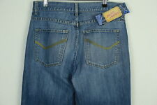 Vintage Mens NEXT Jeans W 34 L 32 (SHABBY CASUALS) STRAIGHT BUTTON FLY P38