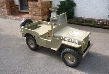 Build A Mini-Jeep -Vintage Plans From Boys' Life magazine Popular Mechanics