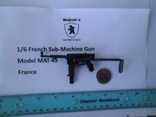 Lxx    1/6 Homemade French MAT-49 Sub-Machine Gun