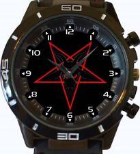 Pentagram Goat Of Satan New Gt Series Sports Wrist Watch FAST UK SELLER