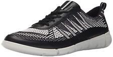 ECCO Mens Intrinsic Knit Sporty Lifestyle Black White 42 EU8-8.5 M US - B 14