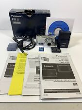 Panasonic LUMIX DMC-FS3 8MB Digital Camera Silver Complete Setup