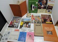 Vtg Photography Camera Book Catalog Estate Lot Home Portraiture Kodak Video rare