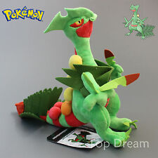 Pokemon Center Mega Sceptile Figure Plush Doll Soft Toy Stuffed Brinquedos 9''