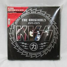 "NEW!! KISS ""THE ORIGINALS 1974-1979"" 11 Color LP-BOX Pressing Japan Very Rare!"