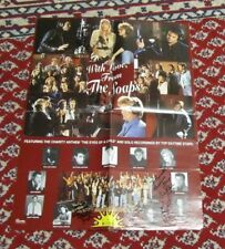 1992 Soap Opera Televison Stars Autograph Signed Poster from Charity Event 17x24