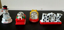Set of 4 Snow Globes 101 Dalmations made by Disney for MacDonalds 1996