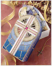 Cross Potpourri Box  ~  plastic canvas pattern   ~ Annie's