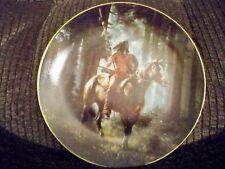 Hamilton Collector Plate Indian Design Sun Seeker Mystic Warrior