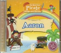 AARON THE BEST EVER PIRATE SONGS AND STORIES PERSONALISED CHILDREN'S CD