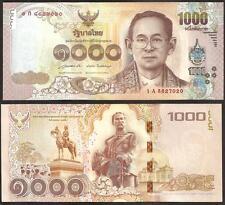 THAILAND 1000 Baht 2015 UNC P New