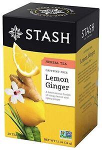 Stash Lemon Ginger Herbal Tea