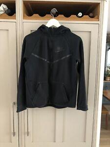 Boys Nike Black Hoodie Size XL 13-15