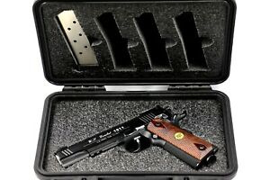 Colt Wilson Sig 1911 45ACP Pistol +5 mags foam kit fits your Seahorse 230 case