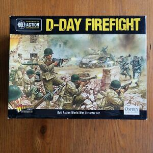 Warlord D-Day Firefight Bolt Action Starter Set - Complete
