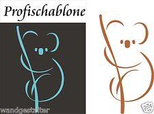 Malerschablone, Schablone, Wandschablone, Kindermotiv,  Koala, Grösse L - XXL