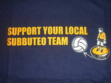 T-SHIRT SUPPORT YOUR LOCAL SUBBUTEO TEAM  XXL (ULTRAS)