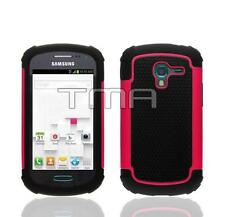 Fits Samsung Galaxy Ace 2 II-E T599 Case Rugged Impact Shockproof Cover - Pink