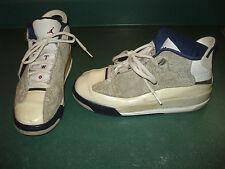 Jordan d-zero Boys Basketball Shoes Size 5.5 Y L@@K !!! BLUE WHITE GRAY