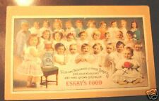 graphic victorian trade post card Eskay's Baby Food