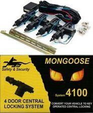 NEW Mongoose MDK4100G 4 Door Central Locking System