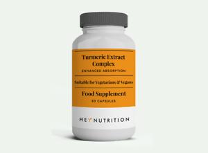 Hey Nutrition -Turmeric Extract Complex - 60 caps