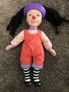 Loonette The Clown Big Comfy Couch Doll Rare PBS Cartoon Promo (Great Condition)