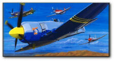 September Post! by David Mueller - Reno Air Races - Aviation Art Print - Canvas
