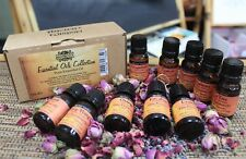Collection of Ten Essential Oils - Mixed Boxed Set Aromatherapy Home Fragance