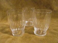 3 Gobelets à porto cristal Baccarat Lances (baccarat porto wine goblets) 6,5cl