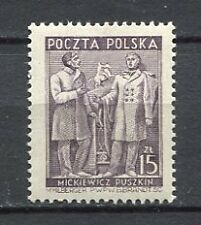 35603) POLAND 1950 MNH** Nuovi** Polish-Soviet friendship