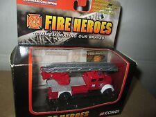 CORGI FIRE heroes Magirus deutz  ladder TRUCK yellow 2002 1/64