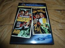 The Incredible Two-Headed Transplant / The Thing with Two Heads (Midnite Movies)