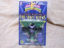 "Mighty Morphin Power Rangers Evil Space Aliens: 5"" Tengu Warrior NEW ON CARD OOP"