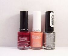 Lot of 3 Revlon Nail Polish Enamel ASSORTED