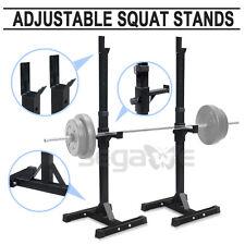 Adjustable Rack Standard Solid Steel Squat Stands Barbell Bench Press Exercise