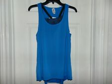 Womens Blue Exercise shirt Size S