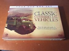 Classic Commercial Vehicles 4 DVD Box Set - As New