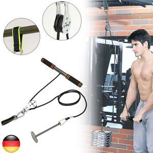 DIY Fitness Flaschenzug Kabelsatz Bizeps Trizeps Arm Blaster Handkraftwerkzeug