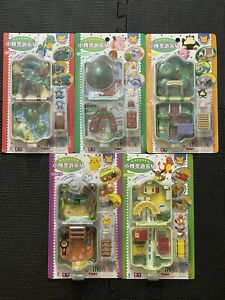 Vintage 90s Tomy Nintendo Pokemon Polly Pocket House Lot of 5 (All Brand New)
