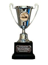 Female Swimmer Swimming Silver Moment Cup Award Trophy (F) ENGRAVED FREE