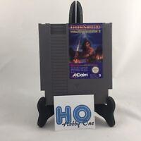 Nintendo NES - Iron Sword - Wizards & Warriors II / 2 - EEC / PAL - TBE
