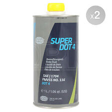 Pentosin Super DOT 4 Brake Fluid - 2 x 1 Litre 2L