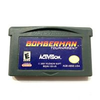 Bomberman Tournament - Game Boy Advance GBA Game - 100% AUTHENTIC & TESTED!