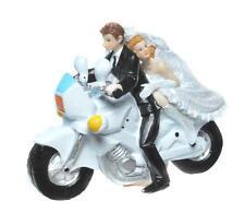 Brautpaar auf Motorrad Hochzeitspaar Geldgeschenk Deko