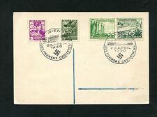 Dt. Reich - Mischfrankatur mit österr. Marken 1938       (RR46)