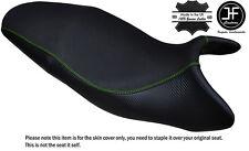 Agarre De Carbono L Verde DS St Personalizado se ajusta a Triumph Street Triple 675 07-12 Cubierta de asiento