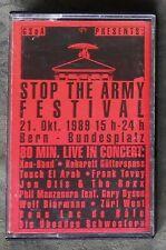 Stop The Army Festival. Live Bern 1989   Züri West   Kassette